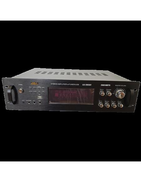 Amplificador LLS 2003 BT - Front