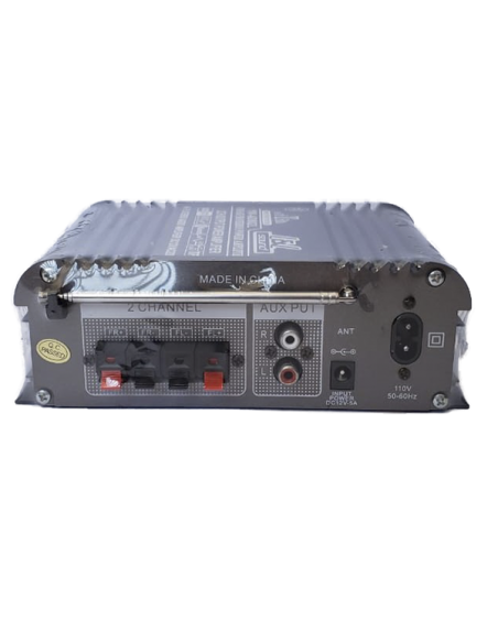 Amplificador de perifoneo YW-AD802 L - Back
